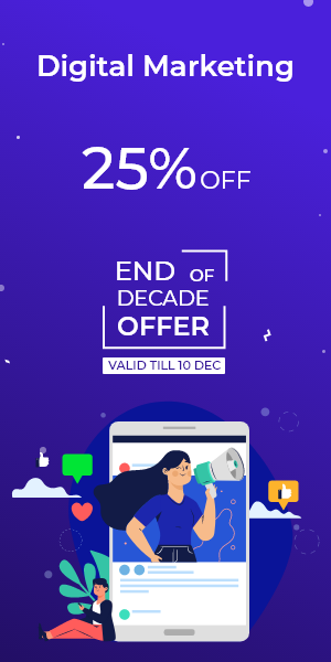 End of Decade Offer on Digital Marketing