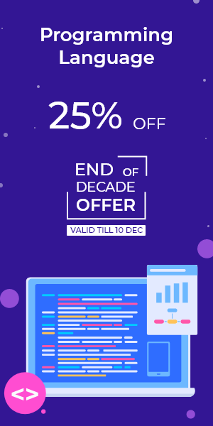 End of Decade Offer on Programming Language