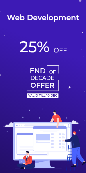 End of Decade Offer on Web Development
