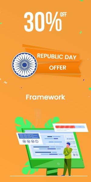 Republic Day Offer on Framework