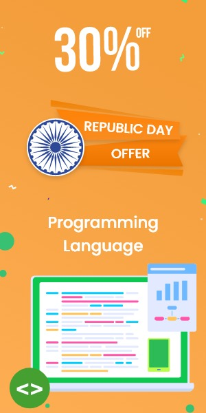 Republic Day Offer on Programming Language